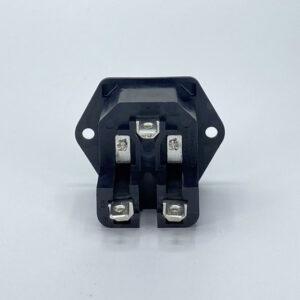 0278-Q connettore iec c14 maschio 10a