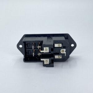 0717-2SC connettore iec c14 maschio fusibili interruttore