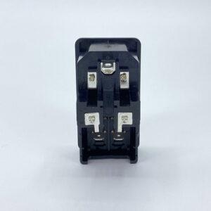 0717-2SP connettore iec c14 maschio fusibili interruttore
