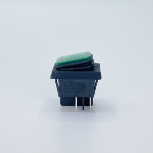 54lbgf0901 interruttore rettangolare waterproof luminoso verde