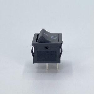 62nbbs0901 interruttore nero rettangolare biipolare nero on-off