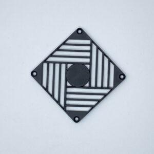 gp92 griglia plastica ventola assiale 92x92