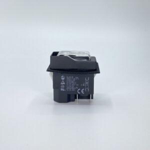 interruttore a pulsate sicurezza bianco 230v kjd16