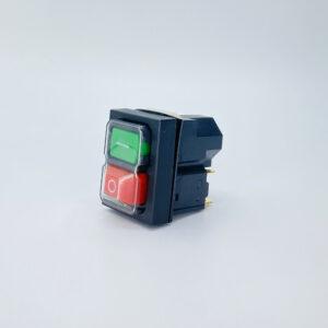 interruttore pulsate sicurezza verde rosso 400v kjd18